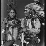 Holy Frog(?) (left) and Big Turnips(?), American Indians