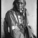 White War Bonnet, American Indian