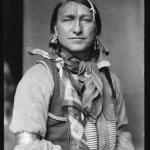 Joe Black Fox, a Sioux Indian from Buffalo Bill's Wild West Show