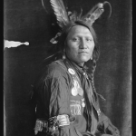 Charging Thunder, a Sioux Indian from Buffalo Bill's Wild West Show