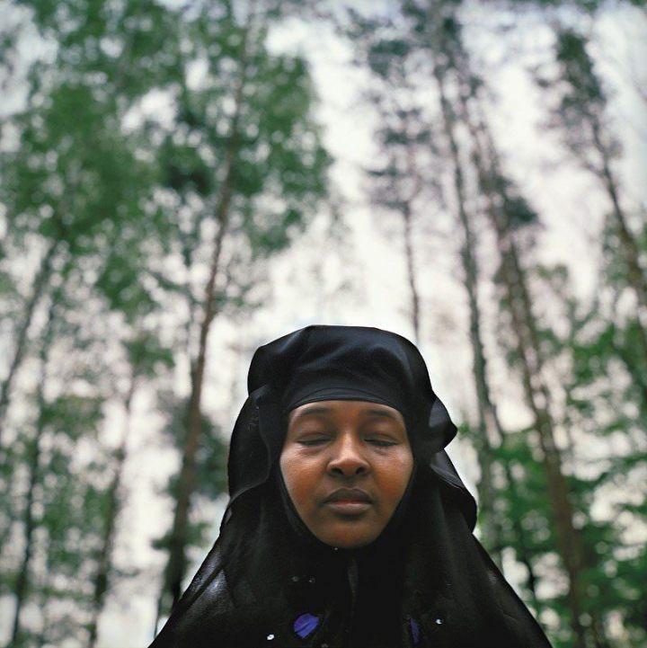 Amina Ahmed Abdala. Somalia. W Polsce od pół roku, wraz z mężem. W kraju pozostawili dzieci i rodzinę.