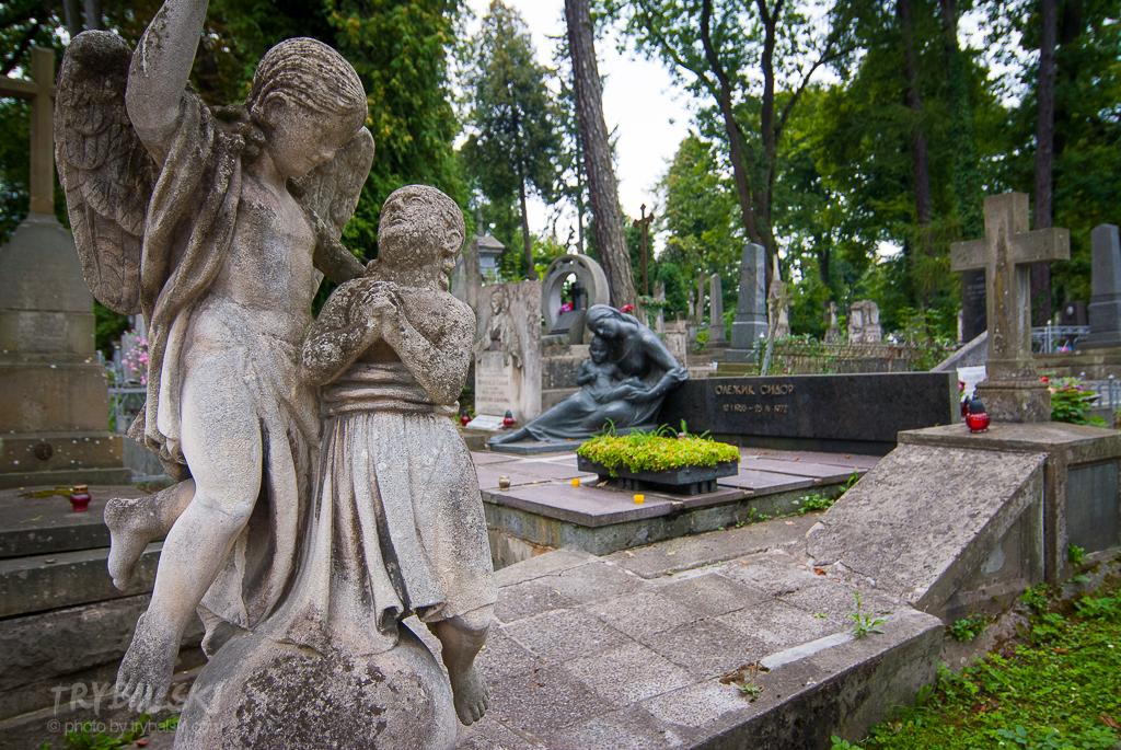 Cmentarz Łyczakowski we Lwowie, jeden z najbardziej romantycznych.