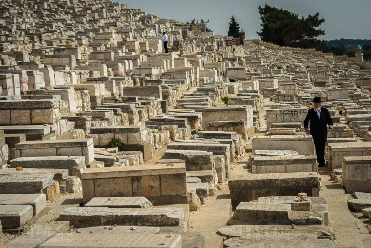 Cmentarz na Górze Oliwnej w Jerozolimie to najstarszy cmentarz żydowski w mięscie.
