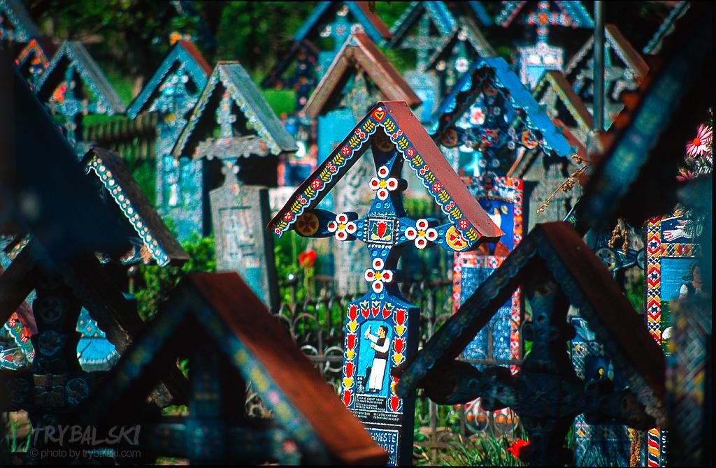 Rumunia Wesoły Cmentarz