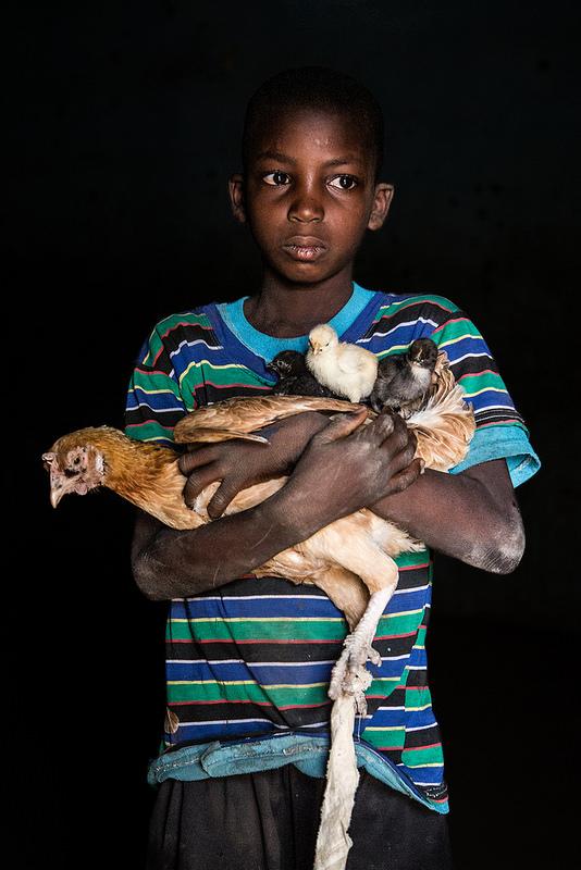 """Issouf, Mali - """"Chcę hodować kurczaki jak mój ojciec i dlatego, że je lubię."""""""