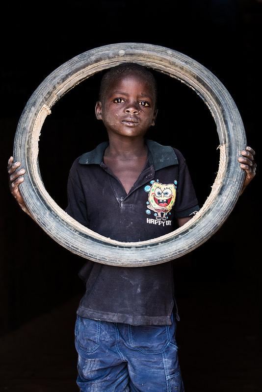 """Habou Lamirou   """"Chcę być kierowcą, będę mógł pomóc moim rodzicom"""""""