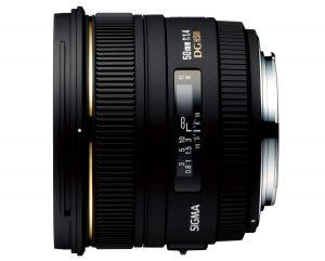 Sigma 50 mm f/1.4 EX DG HSM
