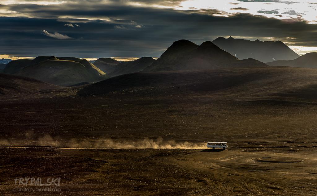 Landmannalaugar, pierwszy krok w islandzki interior.