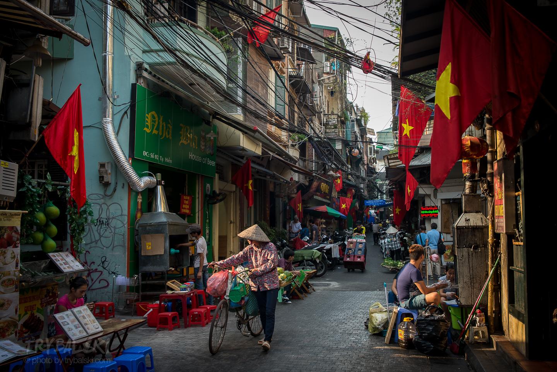 Bazarowe uliczki  Old Quarter