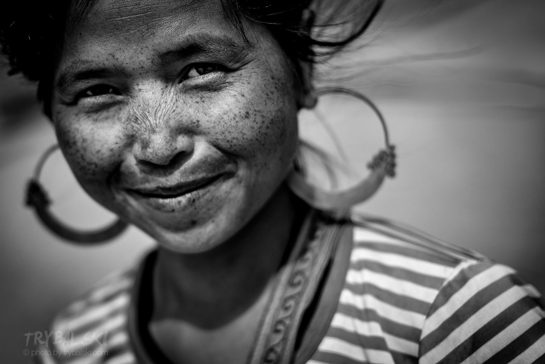Portret napotkanej po drodze kobiety