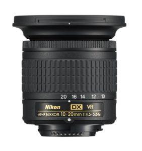 AF-P DX 10–20 mm f/4.5–5.6G VR
