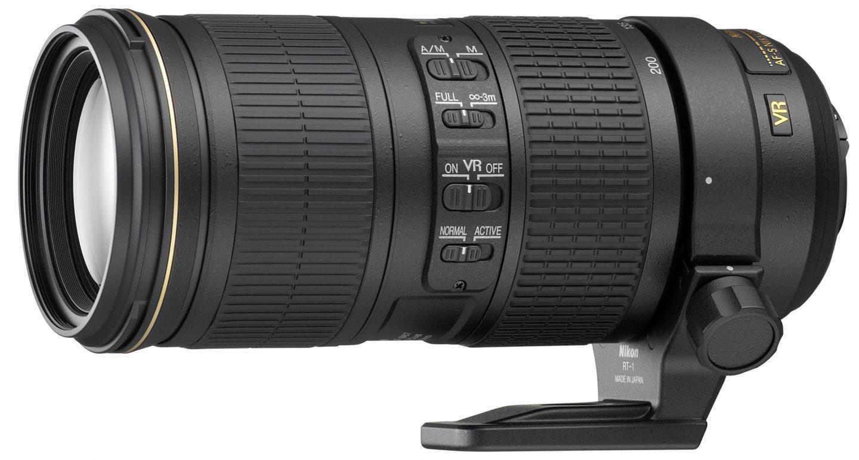 Nikon Nikkor 70-200 mm f/4 G ED VR AF-