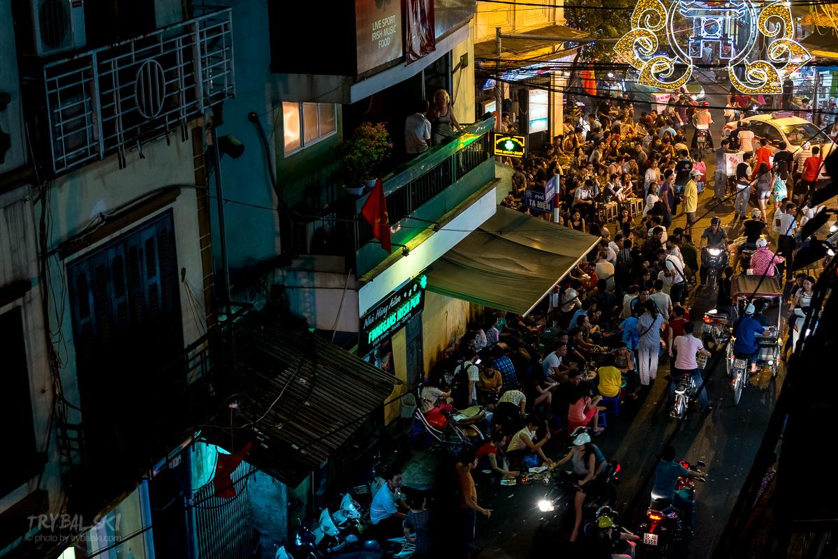 Wietnam Hanoi beer corner