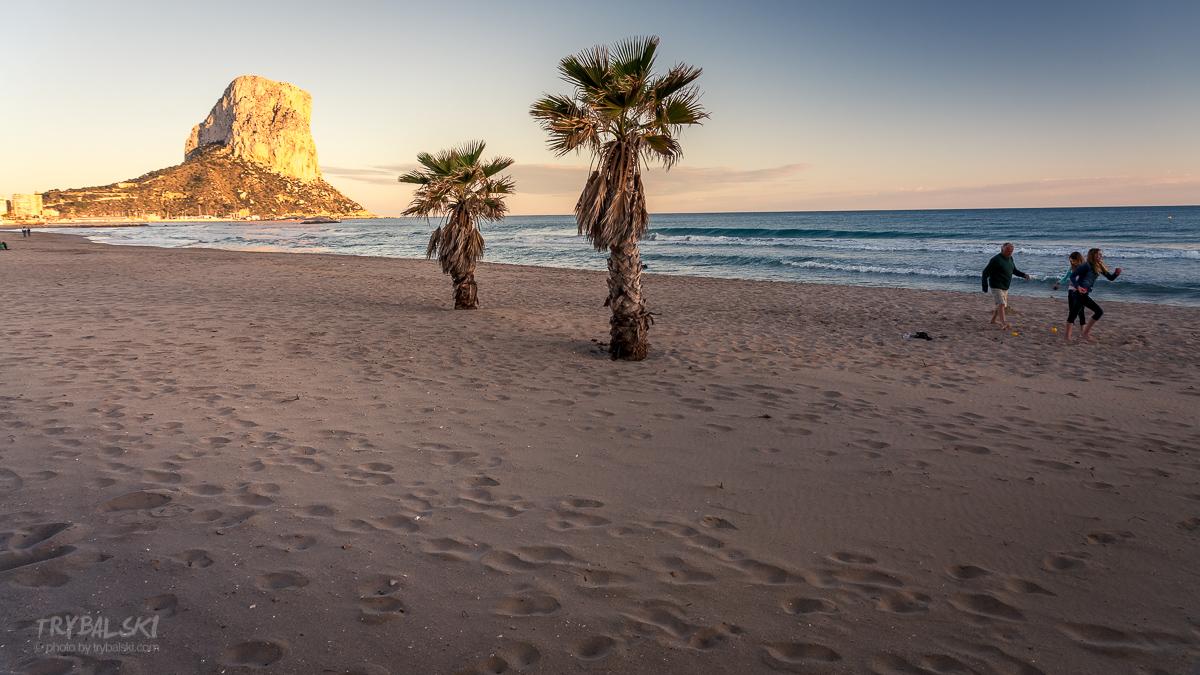 skała Calpe hiszpania