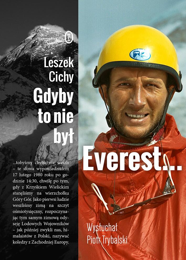 Gdyby to nie był Everest książka Leszek Cichy