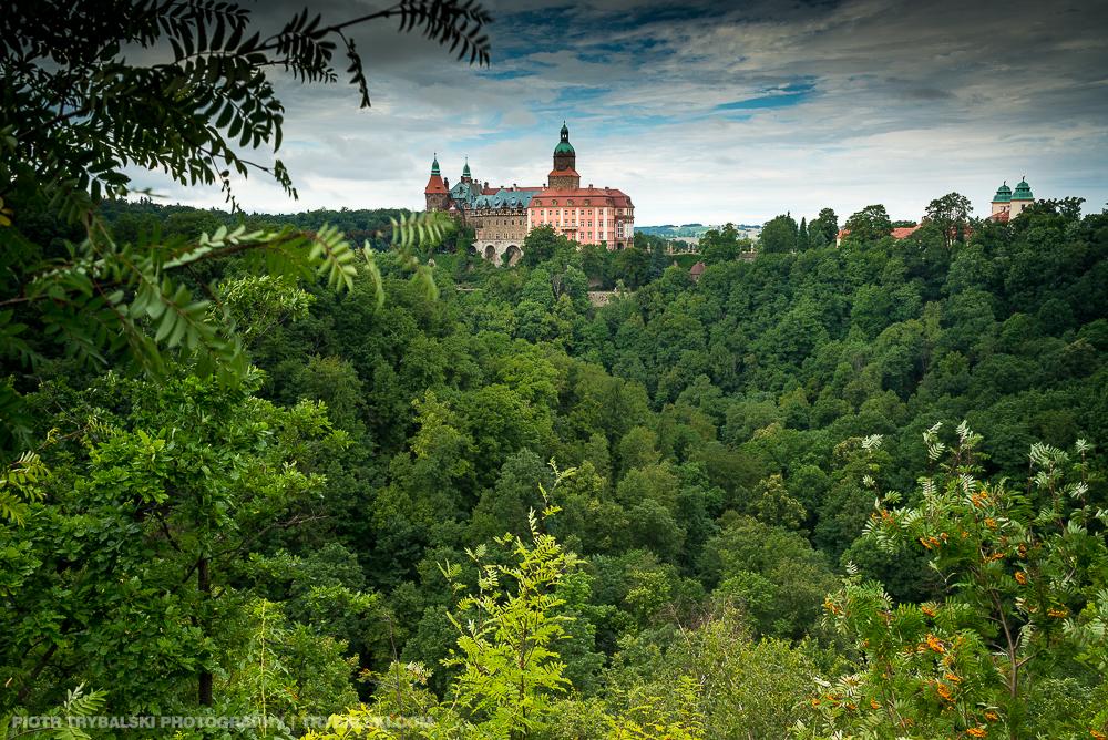 Zamek Książ, który odwiedziłem i sfotografowałem w czasie przejażdżki przez Dolny Śląsk