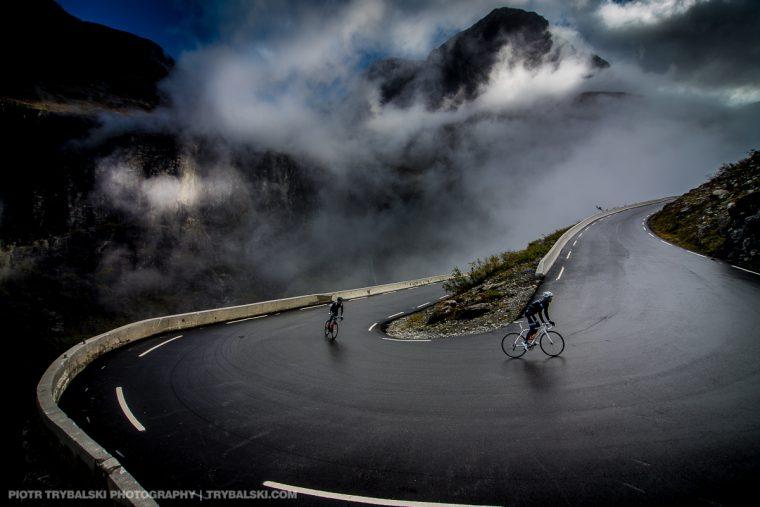 Droga Troli, wyzwanie dla kolarza i fotografa.