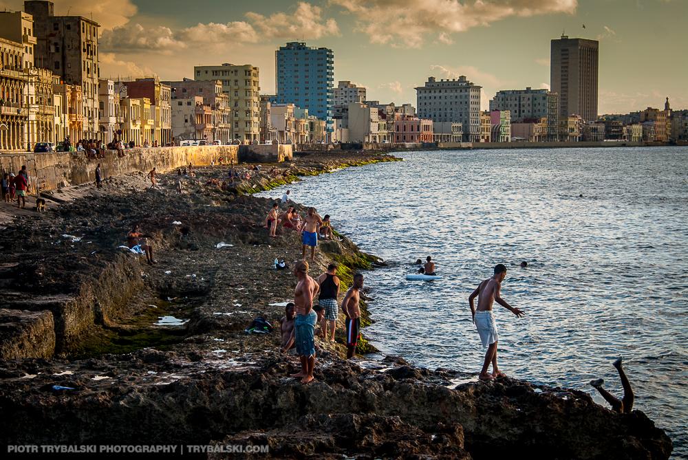 Kuba, Havana - Malecón