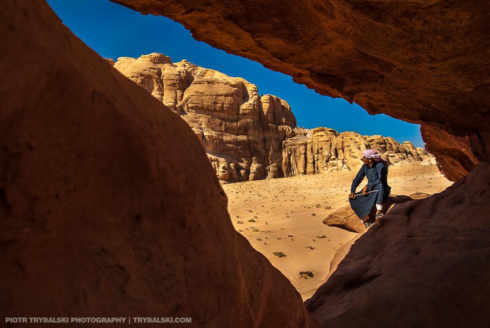 Jordania, pustynia Wadi Rum