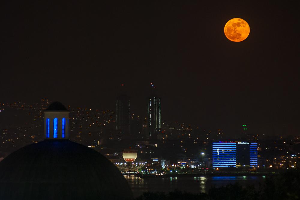 Super Księżyc, Stambuł, 6 maja 2012
