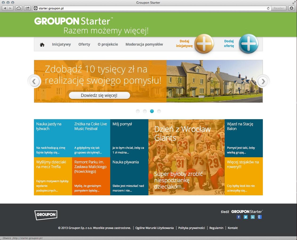 groupon-starter-platforma