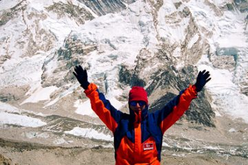 Widok na Everest Trybalski